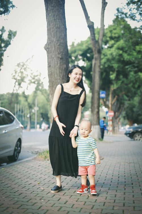Bà xã Tuấn Hưng bầu 6 tháng đẹp hơn thời con gái - 8