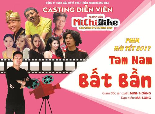 Minh Tít – Trung Ruồi tham gia casting phim hài Tết 2017 - 1