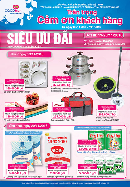 Siêu thị Co.opmart & Co.opXtra bán 6 gói sữa Nutifood giá chỉ 5.000 đồng - 2