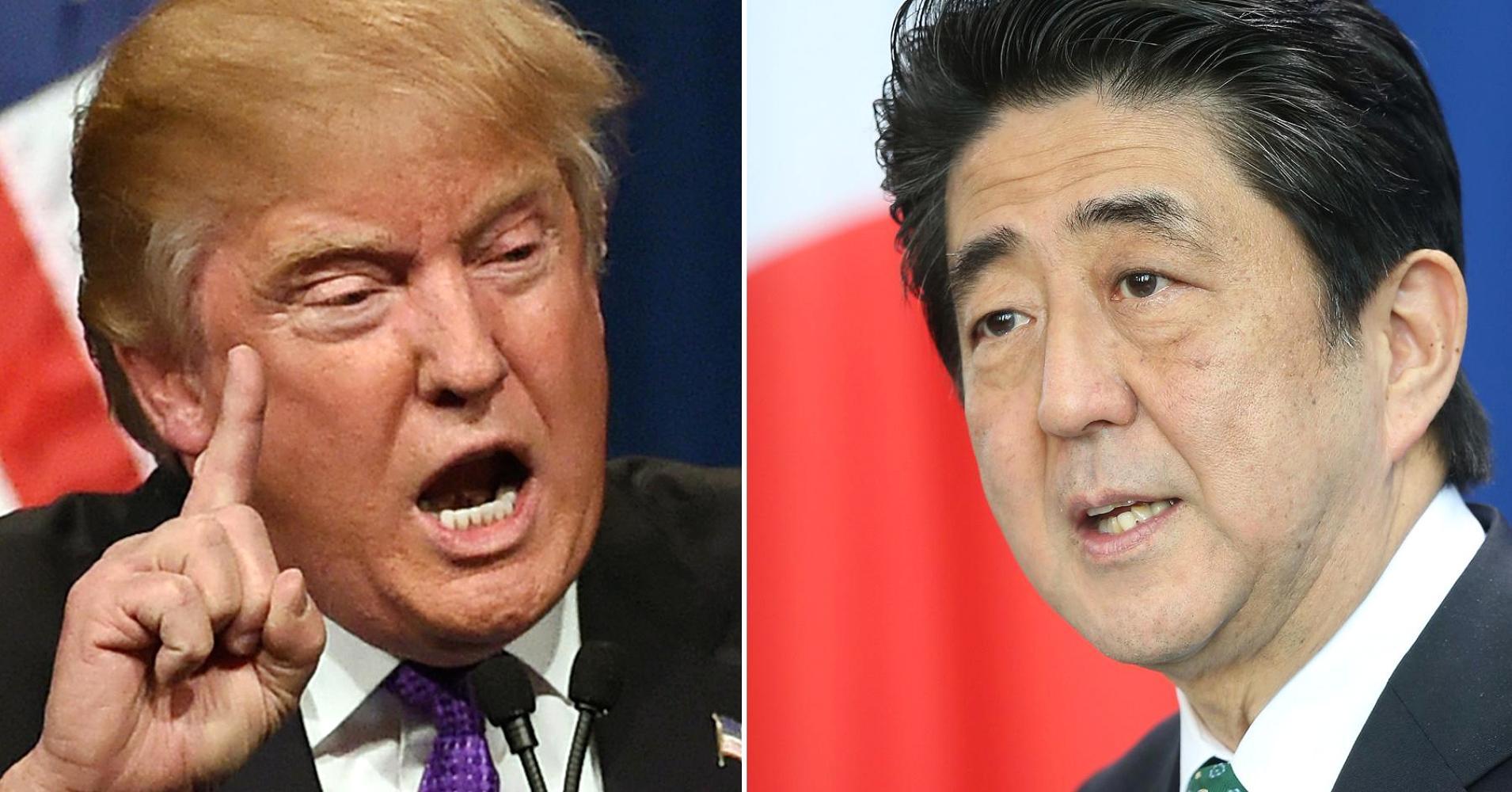 Trump gặp lãnh đạo thế giới đầu tiên sau khi đắc cử - 1