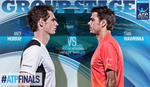 """Tennis, ATP Finals ngày 6: """"Tam quốc"""" phân tranh - 1"""