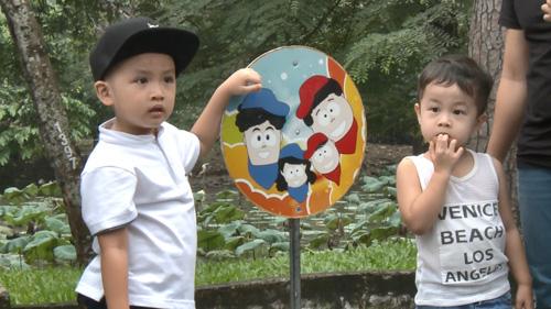 Nguyễn Hải Phong - Vũ Minh Tâm tiết lộ bí quyết dạy con - 3