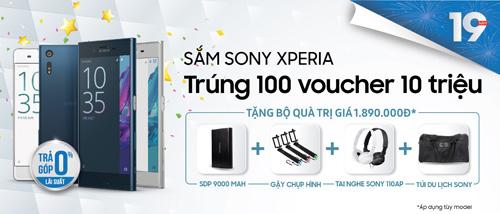 Rinh voucher 10 triệu đồng khi mua Sony tại Viễn Thông A - 1