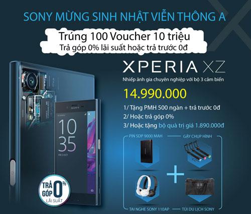 Rinh voucher 10 triệu đồng khi mua Sony tại Viễn Thông A - 2
