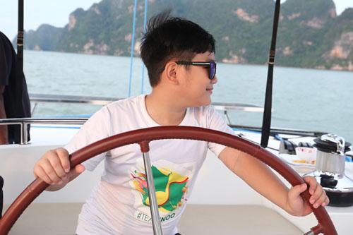 Noo Phước Thịnh sang chảnh trên du thuyền 5 sao - 4