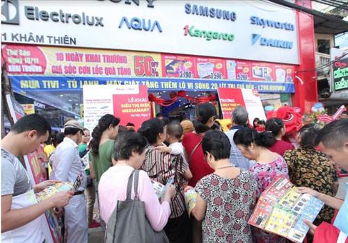 Điện máy MediaMart liên tiếp khai trương mở rộng chuỗi siêu thị - 1