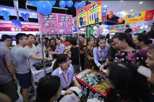 Điện máy MediaMart liên tiếp khai trương mở rộng chuỗi siêu thị - 2
