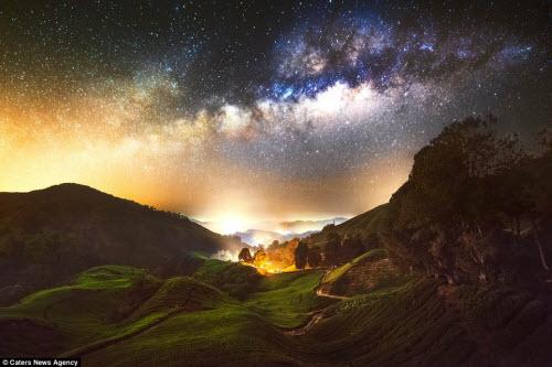 Ngắm vẻ đẹp ngoạn mục của bầu trời đêm - 3