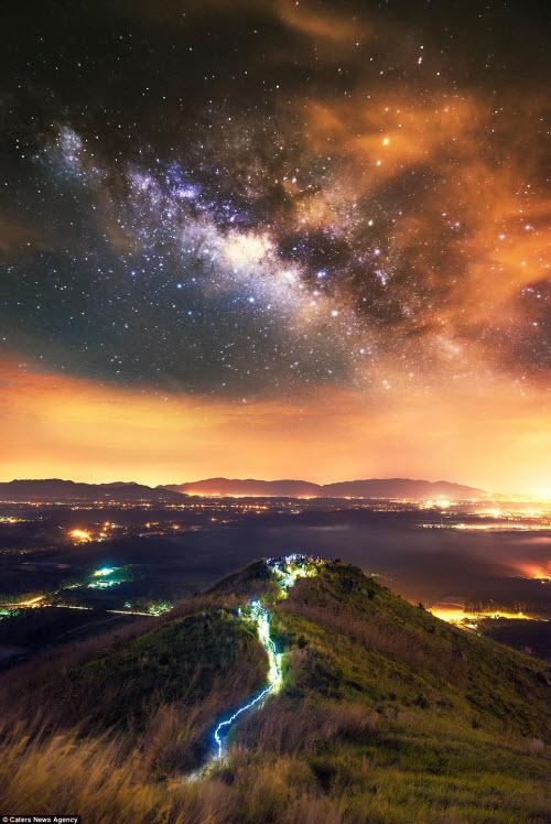 Ngắm vẻ đẹp ngoạn mục của bầu trời đêm - 7