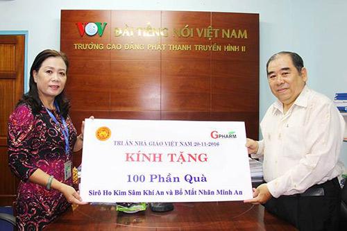 Dược Gpharm tri ân thầy cô nhân ngày Nhà giáo Việt Nam 20-11 - 2