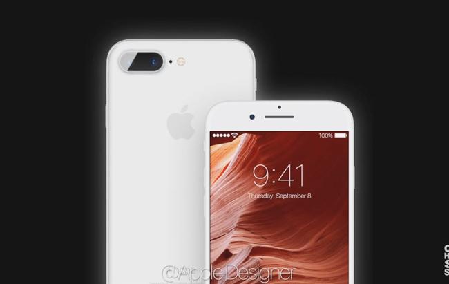 Trang AppleiDesigner vừa đăng tải bộ ảnh iPhone 8 Edge phiên bản concept vô cùng đẹp mắt.