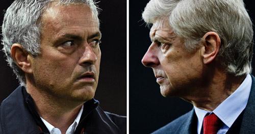MU - Arsenal: Mourinho trẻ lại bảo thủ hơn Wenger già - 1