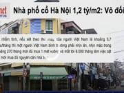 Tài chính - Bất động sản - Giá nhà phố cổ Hà Nội sánh ngang với Paris, Tokyo