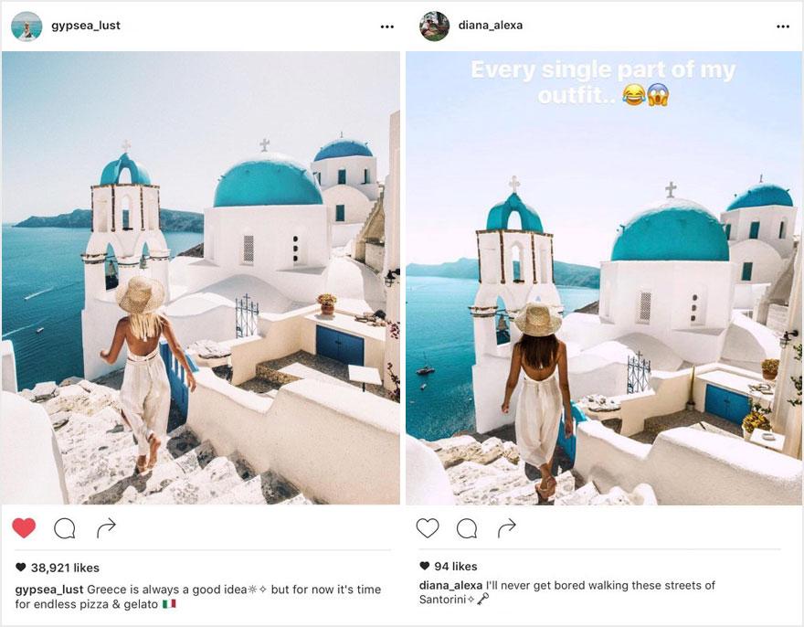 """""""Theo đuôi"""" blogger du lịch chụp ảnh nhái từng chi tiết - 1"""