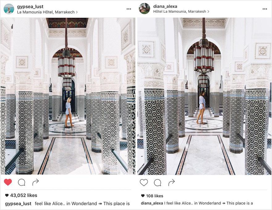 """""""Theo đuôi"""" blogger du lịch chụp ảnh nhái từng chi tiết - 6"""