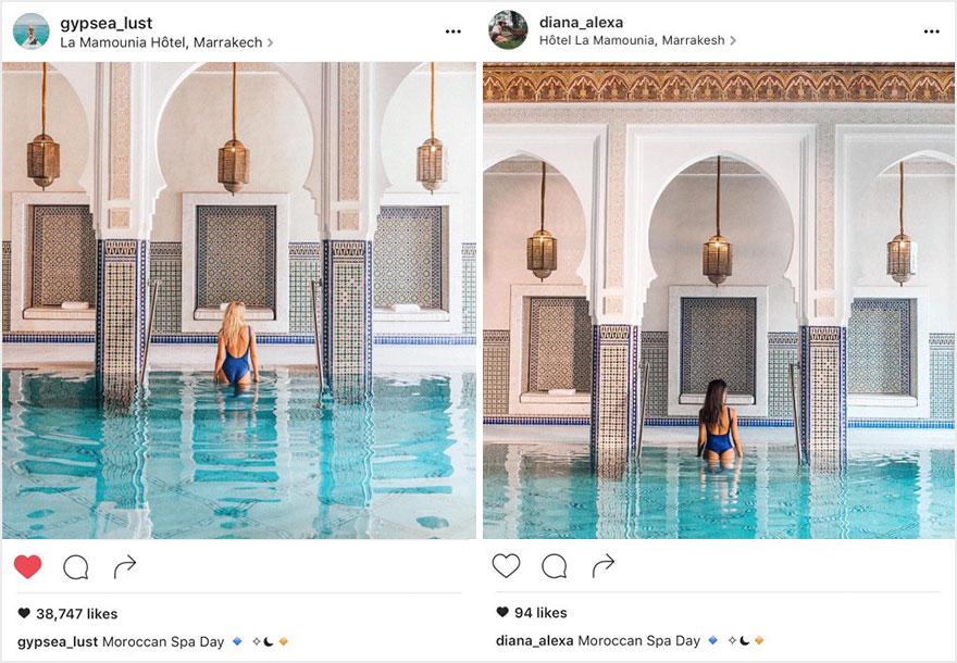 """""""Theo đuôi"""" blogger du lịch chụp ảnh nhái từng chi tiết - 7"""