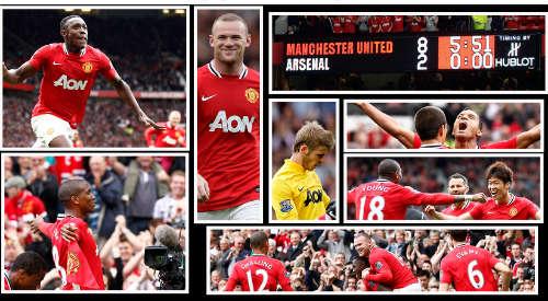MU – Arsenal: Chân mệnh anh hùng - 2