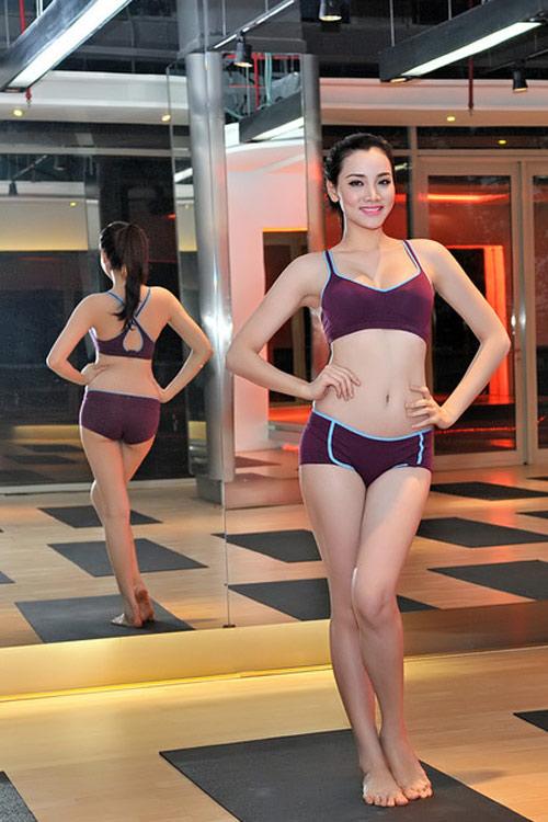 Đồ tập gym sao Việt: Kẻ sexy quá đỗi, người lại kín như bưng - 6