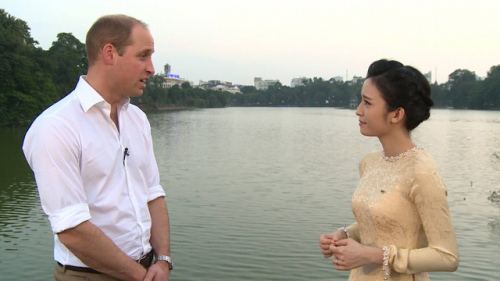 MC xinh đẹp VTV4 tiết lộ điều ít biết về Hoàng tử Anh - 3