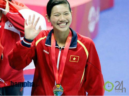 Ánh Viên về thứ 4 châu Á, hụt huy chương 400m tự do - 2