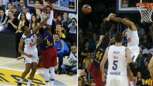 """""""Siêu kinh điển"""" bóng rổ: Real vùi dập Barca - 1"""