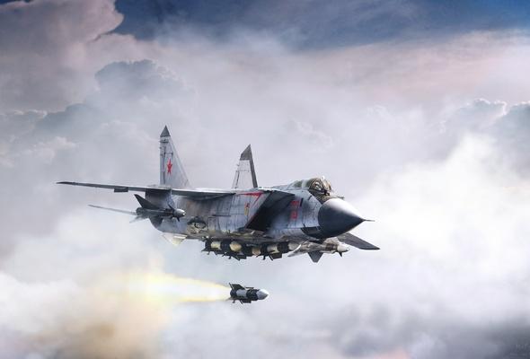 """Sức mạnh """"quái thú bầu trời"""" MiG-31 Nga điều đến Syria - 1"""