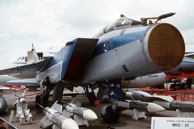 """Sức mạnh """"quái thú bầu trời"""" MiG-31 Nga điều đến Syria - 3"""