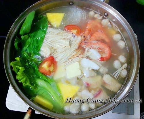 Cách nấu lẩu hải sản chiêu đãi bạn bè dịp  cuối tuần - 6