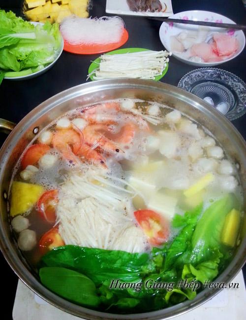 Cách nấu lẩu hải sản chiêu đãi bạn bè dịp cuối tuần - 7