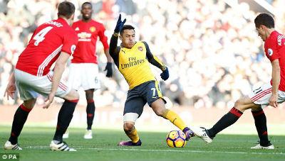 Chi tiết MU - Arsenal: Chết lặng Old Trafford (KT) - 5