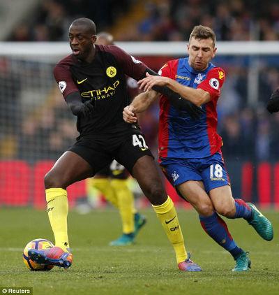 Chi tiết C.Palace – Man City: Cú đúp của Toure (KT) - 3