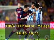 Bóng đá - Chi tiết Barcelona – Malaga: Chia điểm đáng tiếc (KT)