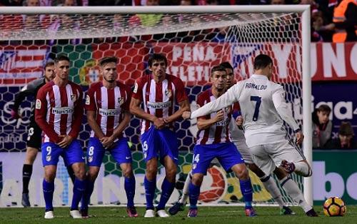 "Atletico - Real Madrid: ""Cơn cuồng phong"" Ronaldo - 1"
