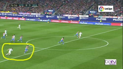 Góc chiến thuật Atletico – Real Madrid: Gậy ông đập lưng ông - 9