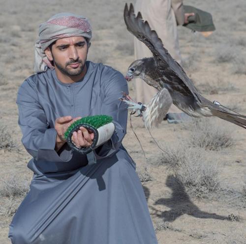 Thú vui chơi xa xỉ của Thái tử đẹp trai nhất Dubai - 2
