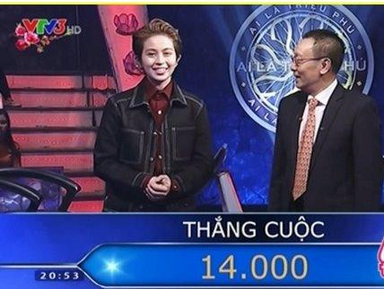 """Choáng với số tiền sao Việt nhận được khi tham gia """"Ai là triệu phú"""" - 2"""