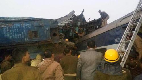 Tai nạn tàu hỏa kinh hoàng ở Ấn Độ, 45 người thiệt mạng - 4