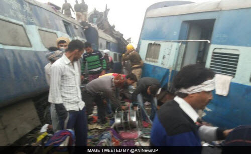 Tai nạn tàu hỏa kinh hoàng ở Ấn Độ, 45 người thiệt mạng - 6