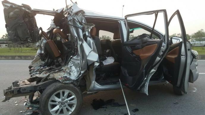 Tai nạn cao tốc Hà Nội-Thái Nguyên: 2 tài xế khai gì? - 1