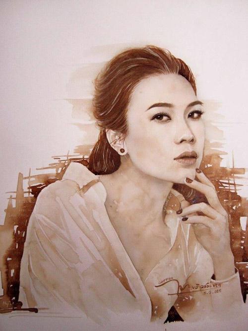 9X vẽ tranh Tóc Tiên lên tạp chí nghệ thuật nổi tiếng nước Mỹ - 4