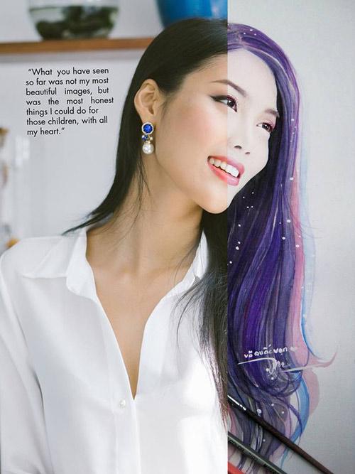 9X vẽ tranh Tóc Tiên lên tạp chí nghệ thuật nổi tiếng nước Mỹ - 6