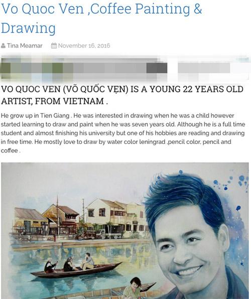 9X vẽ tranh Tóc Tiên lên tạp chí nghệ thuật nổi tiếng nước Mỹ - 3