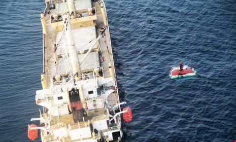 Tàu Indonesia đâm tàu hàng Việt Nam, 15 người mất tích - 1