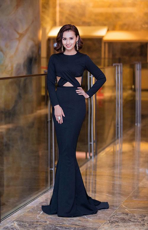 """Quỳnh Mai """"siêu vòng 3"""" bất ngờ lọt top mặc đẹp nhất - 3"""