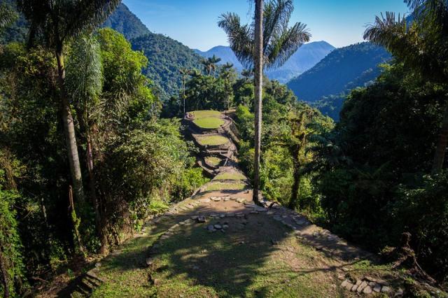 Choáng ngợp với thành phố cổ đang khai quật tại Colombia - 2