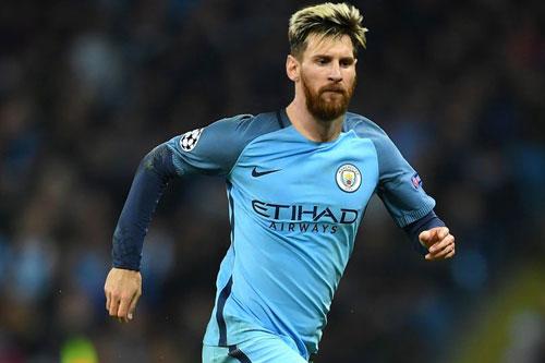 Vì Messi, Man City chi lương siêu khủng 500000 bảng/tuần - 1
