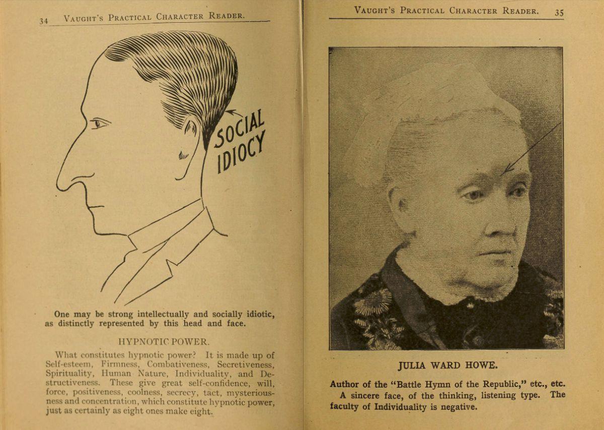 """Choáng với sách xem tướng """"phũ phàng"""" đầu thế kỉ 20 - 1"""