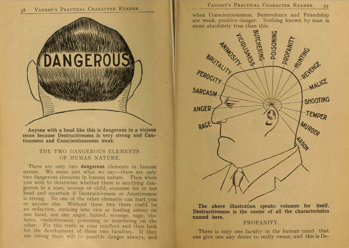 """Choáng với sách xem tướng """"phũ phàng"""" đầu thế kỉ 20 - 6"""
