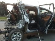 Tin tức trong ngày - Tai nạn cao tốc Hà Nội-Thái Nguyên: 2 tài xế khai gì?