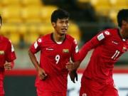 """Bóng đá - """"Ronaldo Myanmar"""" vừa ghi bàn vừa đá xấu ĐT Việt Nam"""